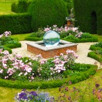 Glass Ball Fountain