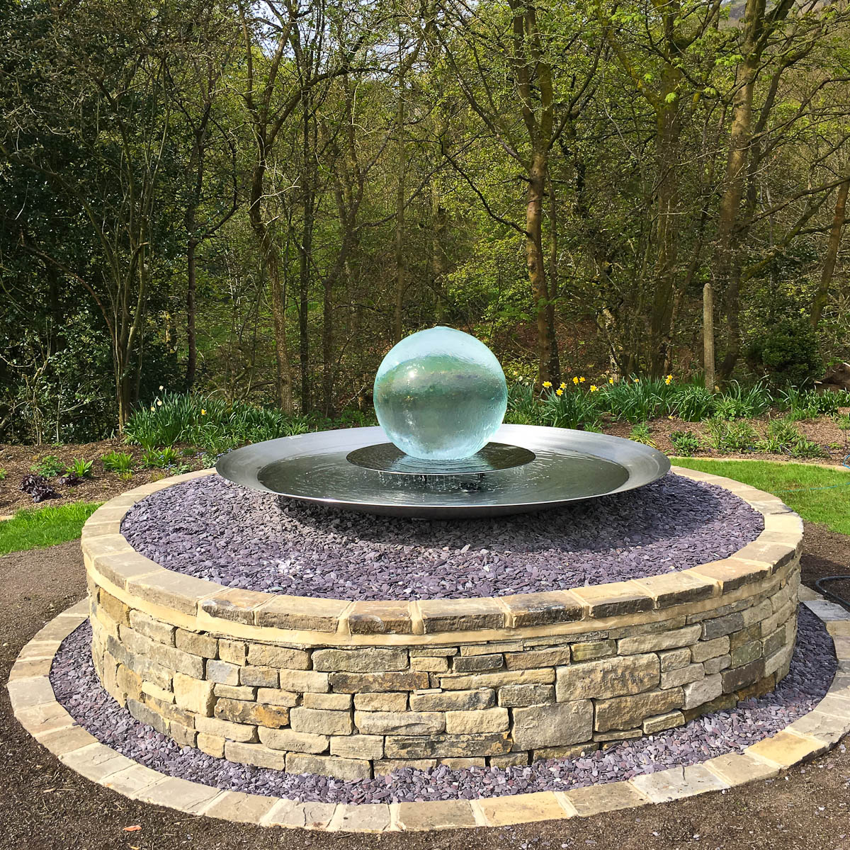 Garden Landscaping In Halifax Huddersfield West: Aqualens In Shibden, West Yorkshire