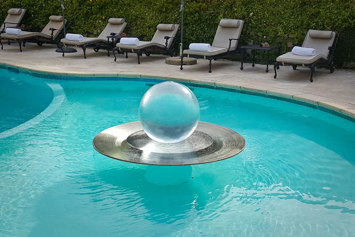 orb fountain