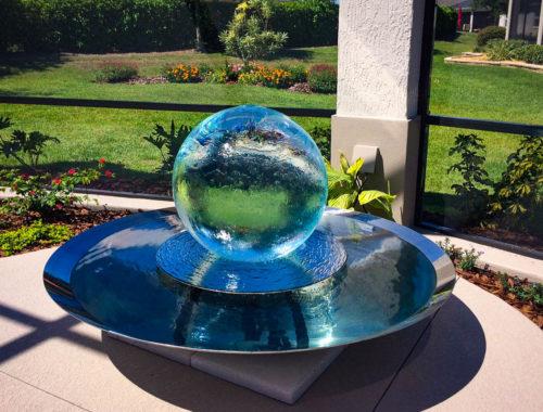 Screened In Fountain