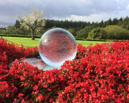 Castle Sphere Fountain