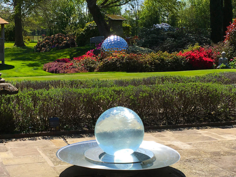 patio-globe-fountain
