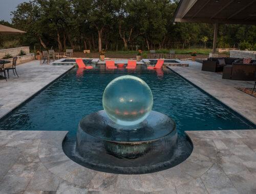 garden-sphere-fountain-pool